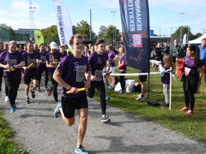 Team Jobzone vann Running For Shelter för andra året i rad