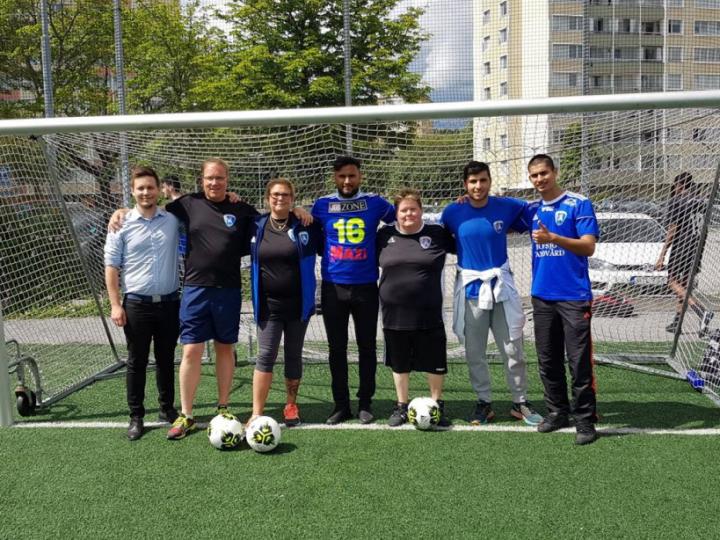 Jobzone inbjudna till Södertälje FF Paralags fotbollskola!