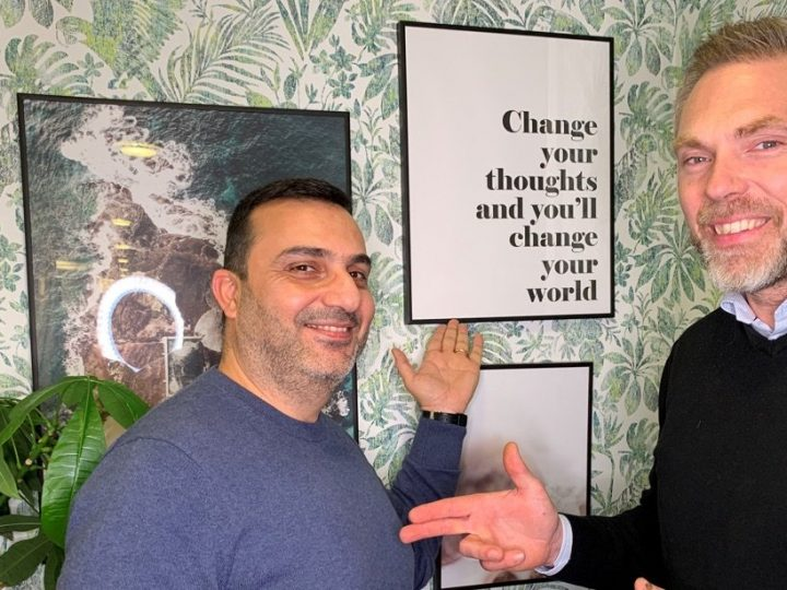 Firas Dakkak – från flykting till Affärsområdeschef på Jobzone